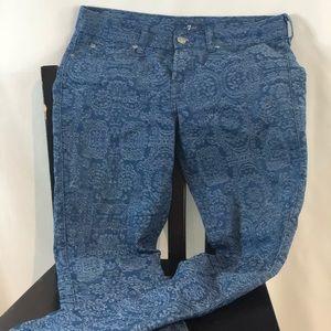Seven for All Man Kind Denim Jeans Light Blue